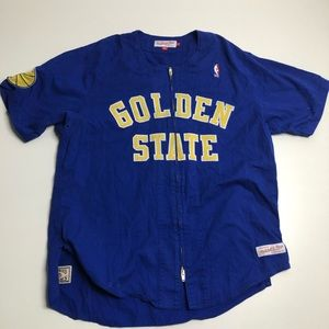 Mitchell & Ness Golden State Warriors Jersey Large